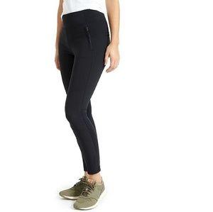 Athleta Highline Hybrid Ankle Tight Legging Black